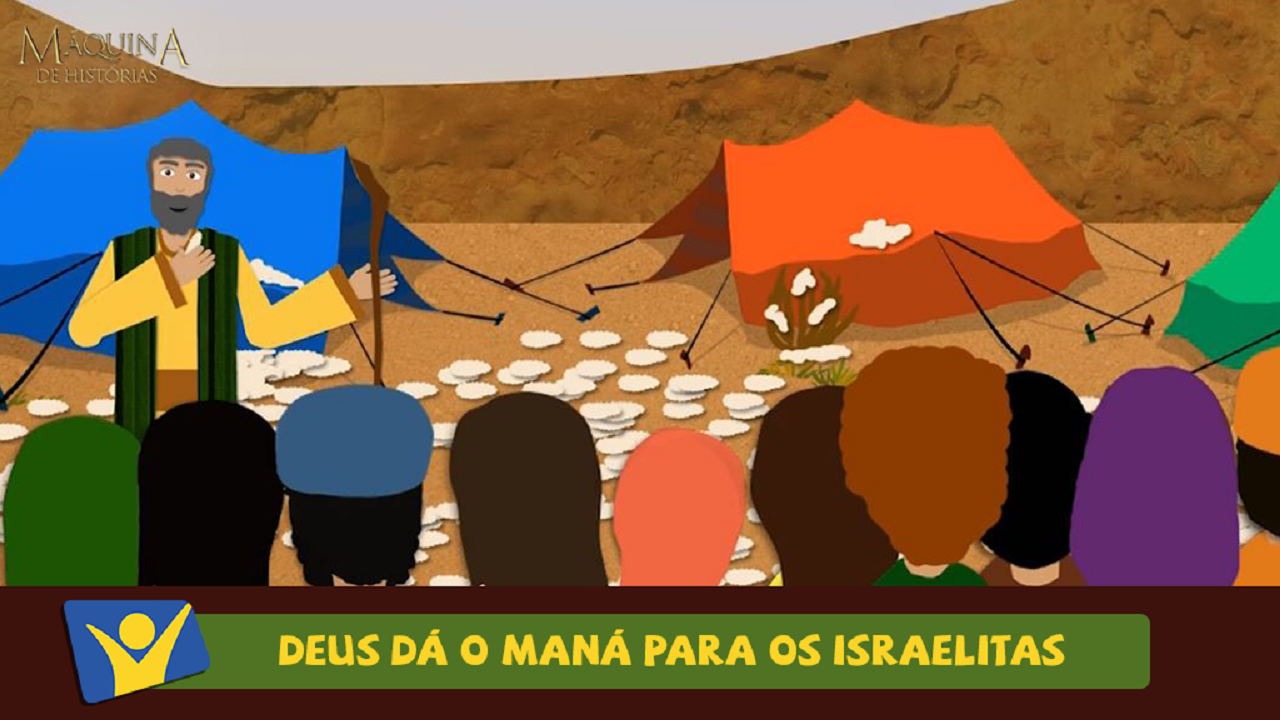 Deus dá o maná para os israelitas