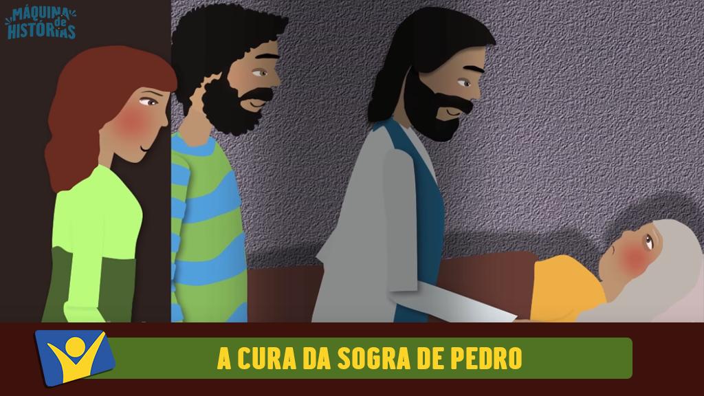 A cura da sogra de Pedro
