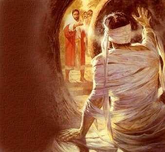 Lázaro vem para fora