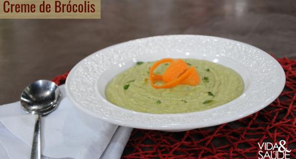 Receita: Creme de Brócolis