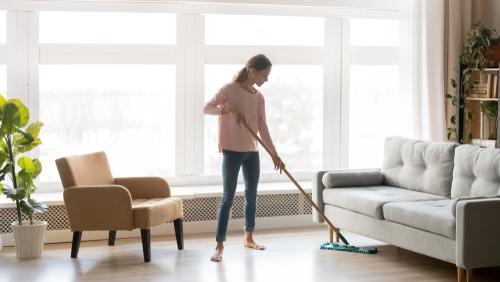 Como manter minha casa bem higienizada como forma de prevenção