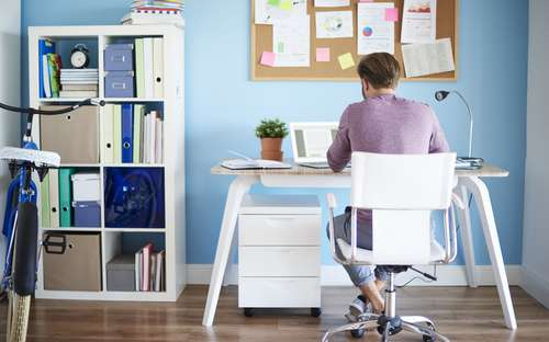Como me organizar para trabalhar em casa?