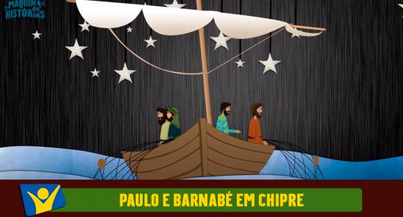 Paulo e Barnabé em Chipre
