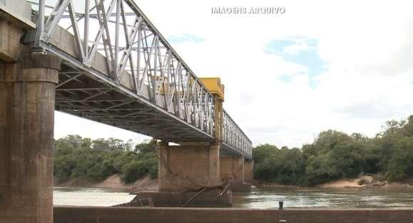 Ponte do fandango tem mais uma etapa de manutenção
