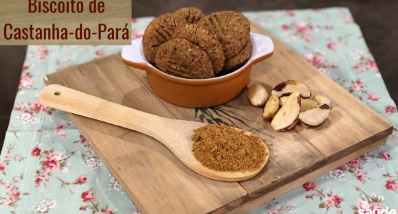 Receita: Biscoito de Castanha-do-Pará
