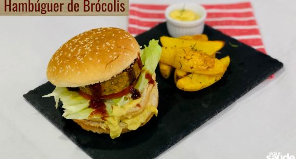 Receita: Hambúrguer de Brócolis