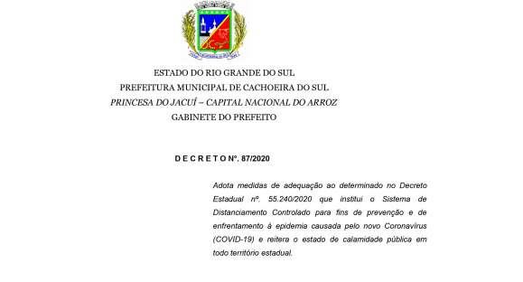 Prefeitura publica decreto permitindo os treinos de laço