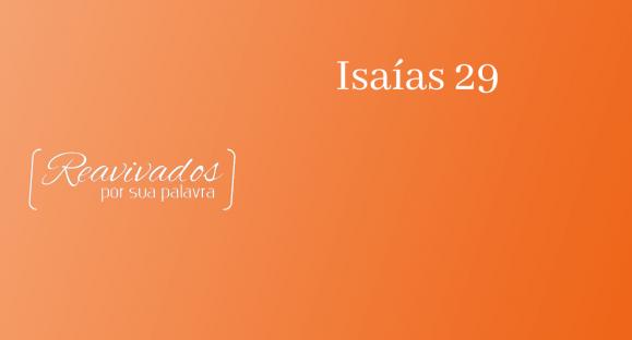 Isaías 29
