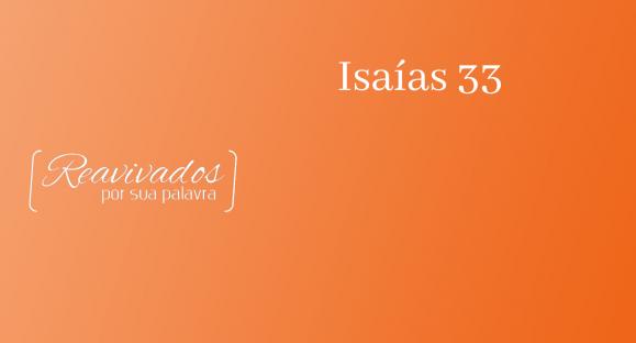 Isaías 33