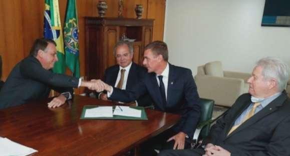 André Brandão toma posse como presidente do Banco do Brasil