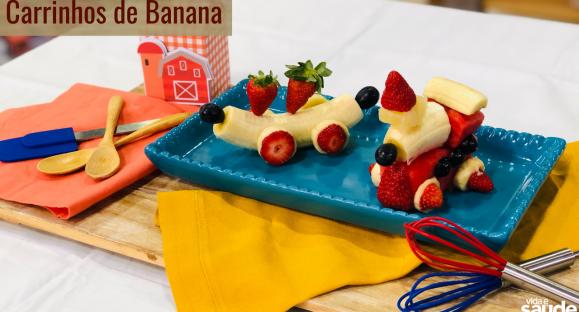 Receita: Carrinhos de Banana