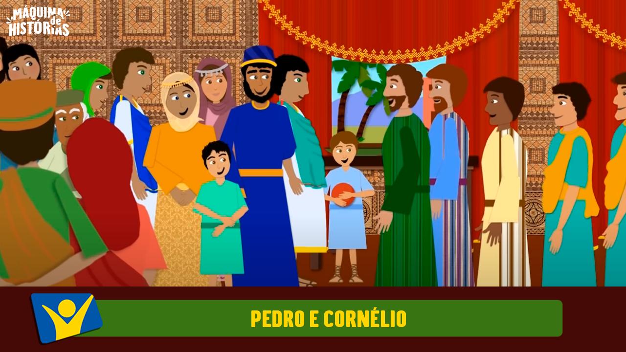 Pedro e Cornélio