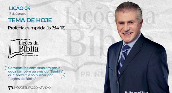 Profecia cumprida (Is 7:14-16)