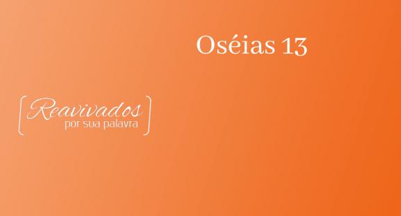 Oséias 13