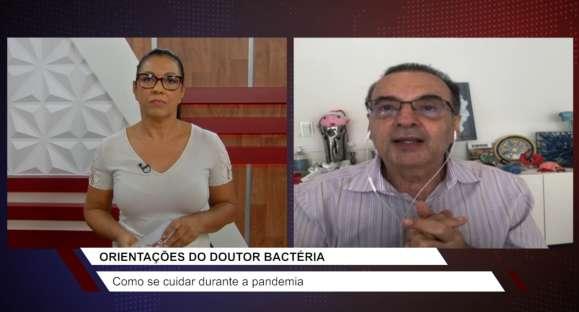 Dr. Bactéria desmistifica exageros na higiene em tempos de pandemia