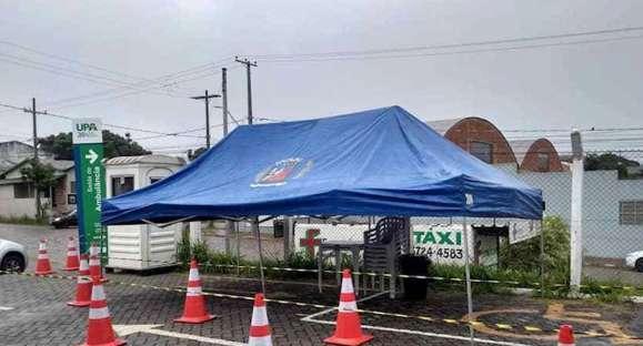 UPA tem nova tenda de pré-triagem