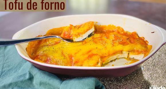 Receita: Tofu de Forno