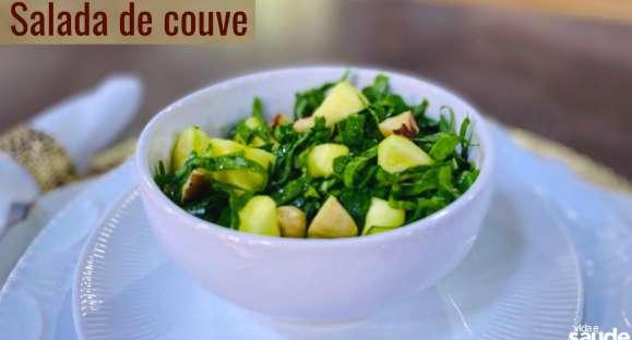 Receita: Salada de Couve
