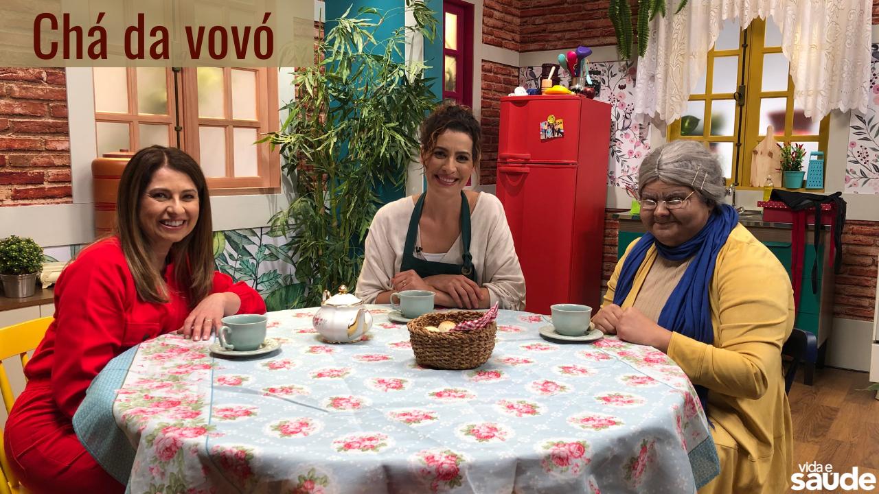 Receita: Chá da Vovó (Tia Cecéu e Vovó Lourdes)